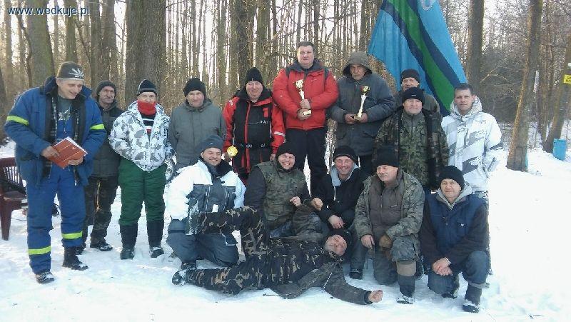 Zawody podlodowe 29 stycznia 2017 Lasek Wrzosowa