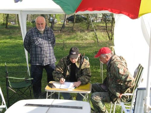 Zawody z okazji Dnia Wêdkarza 26.0.4.2009