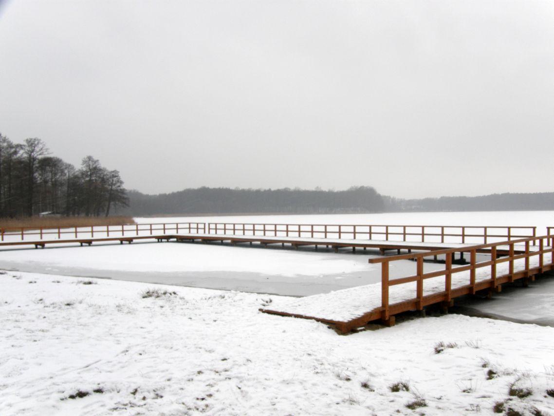Jeziora w lginiu zim±