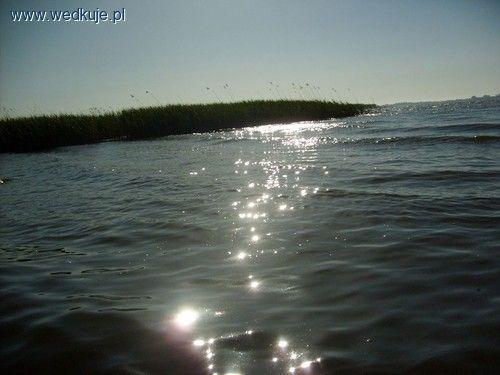 jezioro jamno promienie s³oneczne