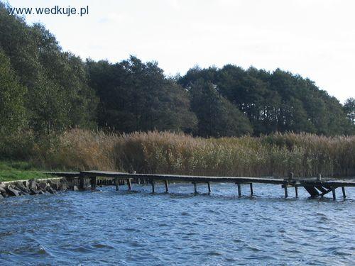 jezioro jamno pomost