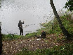 Klubowe zawody karpiowe na jeziorze Wandziñskim