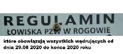 Zmiana Regulaminu PZW Rogów 2020