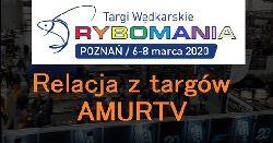 Relacja z targów wêdkarskich Rybomania Poznañ 2020