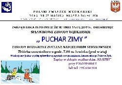 Zawody Puchar Zimy 2020- Og³oszenie