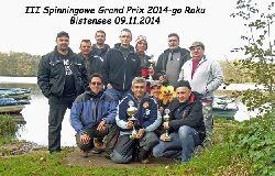 III Spinningowe Grand Prix 2014 Bistensee