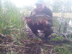 Jeziorowe leszcze i liny z brzegu - mój sposób na du¿e ryby