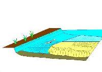 Rzeka - przykosa i wyp³ycenie