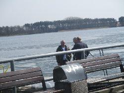 Pierwsze zarybianie na Jeziorze Rychnowskim w 2018