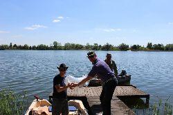 Zarybianie Jeziora Urzêdowego w Cz³uchowie