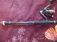 Okuma Black Rock2,75m,c.w. 5-25g,