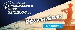 Rybomania Poznañ 2020 - targi rêkodzie³a wêdkarskiego
