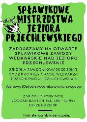 Zawody sp³awikowe na jeziorze Przechlewskim