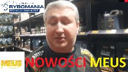 Nowo¶ci od firmy Meus - Rybomania Poznañ 2020