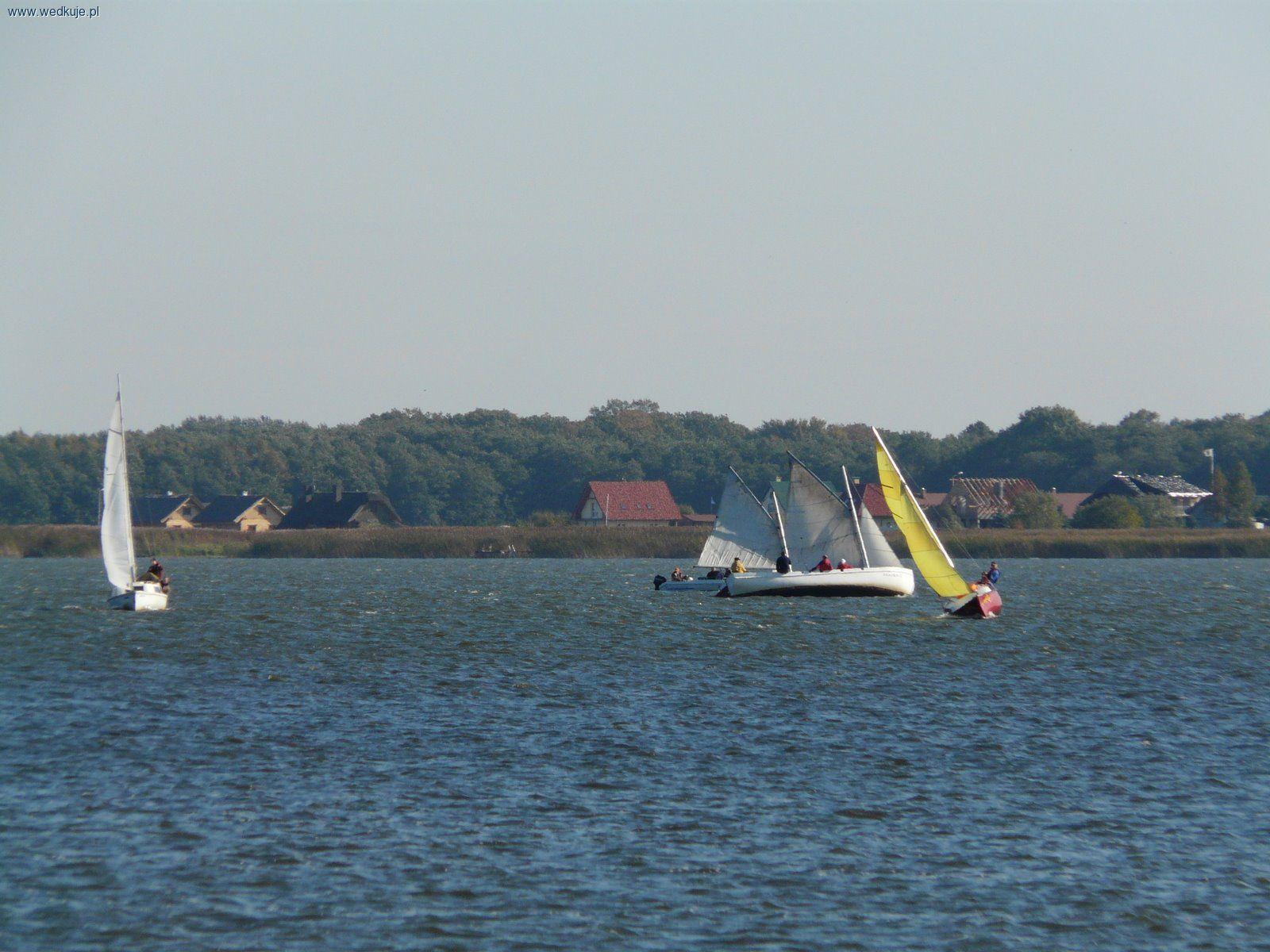 jezioro jamno jachty