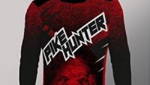 Koszulka longsleeve Pike Hunter mêska, rozmiar M