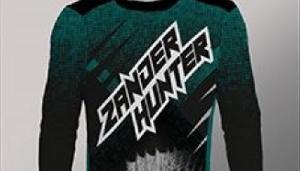 Koszulka longsleeve Zander Hunter mêska, rozmiar M
