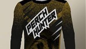 Koszulka longsleeve Perch Hunter mêska, rozmiar M
