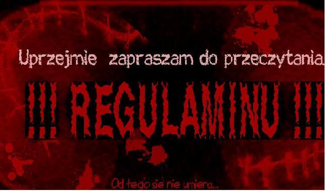 Regulamin Regulamionowy