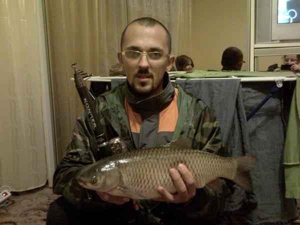 Wyprawa jako¶ w maju 2009: Amur 50 cm i 2,3kg