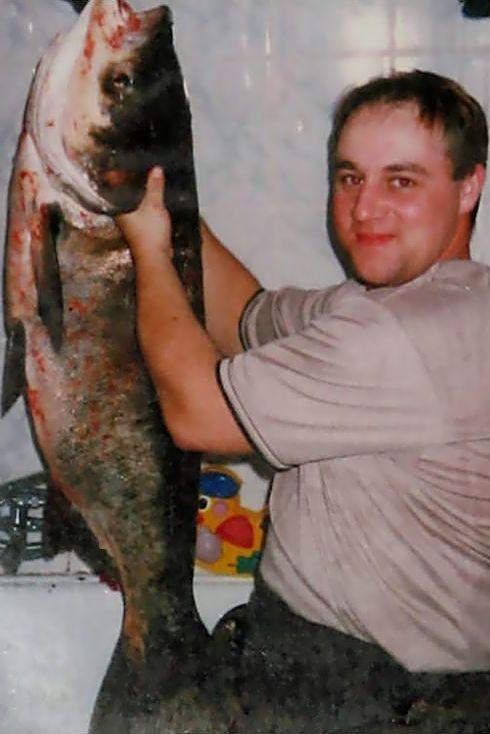 MÓJ REKORD z 2005 roku  TO£PYGA 28,60 kg i 121 cm, druga by³a wiêksza ale nie posiadam foty.