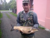 Amur z³owiony na tyczkê, 6kg, Gwaru¶- Suszec :)